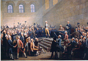 Assembly of Vizille - Assembly of Vizille by Alexandre Debelle, (Musée de la Révolution française).