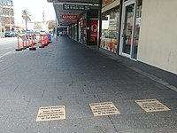 Assertion of footpath ownership on High Street.jpg
