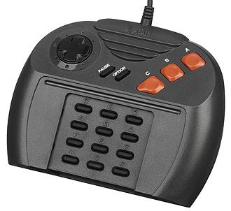 Atari Jaguar - The original controller.