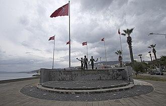 Kuşadası - Atatürk Memorial in Kuşadası