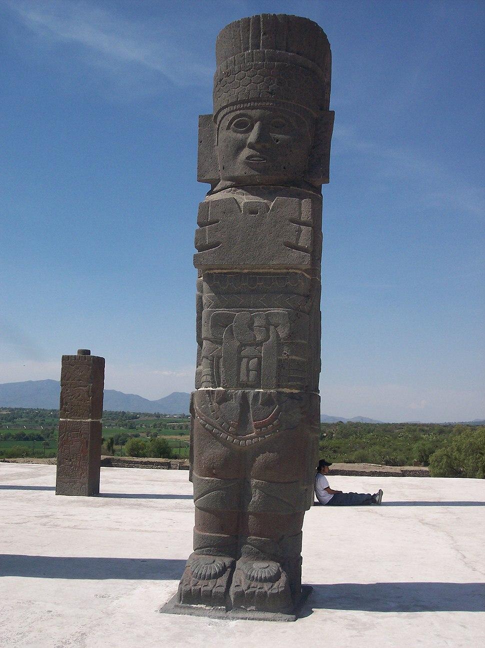 Atlante-Tollan-Xicocotitlan-Hidalgo Mexico
