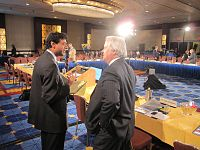 Atul Gawande and Jack Cochran in 2010.jpg