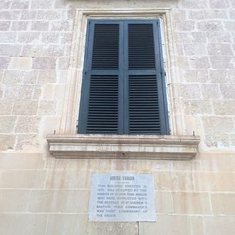 Auberge d'Aragon - Plaque on the auberge