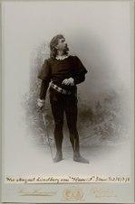 August Lindberg, rollporträtt - SMV - H5 081.tif