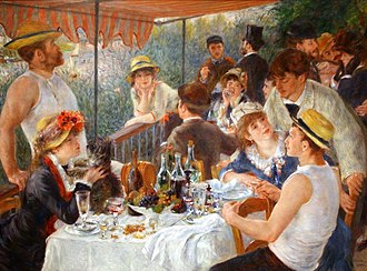 1881 in art - Renoir - Luncheon of the Boating Party