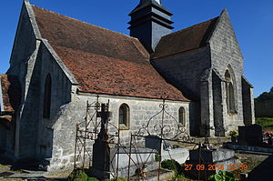 Augy, Aisne - The Church of Saint Remi