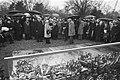 Auschwitz herdenking op Nieuwe Oosterbegraafplaats in Amsterdam, Bestanddeelnr 929-5481.jpg