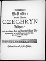 Ausführliche Nachricht wie die Türken Czehryń belagert haben und was bei selbiger Belagerung passiert und vorgelaufen ist.png