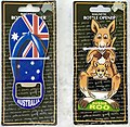 Aussie Souvenirs - flip-flop and kangaroo bottle openers, Queensland, Australia.jpg