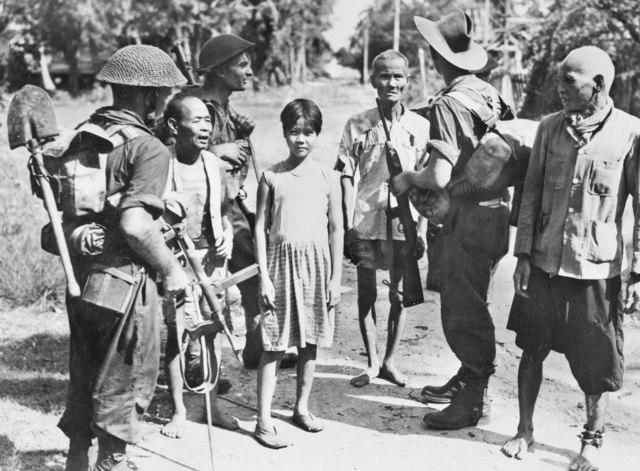 Australian soldiers civilians Labuan
