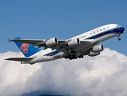 Airbus A380-800 der China Southern Airlines