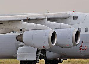 Lycoming ALF 502 - Honeywell LF 507s on an Avro RJ