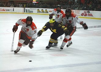 College ice hockey - Bowling Green vs. Michigan hockey game