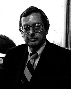 Ed Acker - 1977 Air Florida file photo of Board Chairman C. Edward Acker
