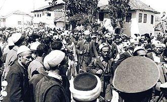 Balli Kombëtar - Ballist forces enter Prizren