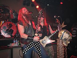 Black Label Society live (Zakk Wylde, Nick Catanese, Craig Nunenmacher)