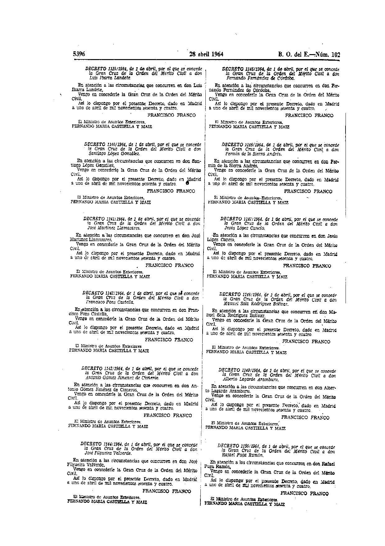disposiciones legales de la letra: