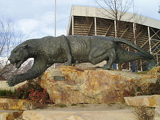 Cosmo the Cougar - This cougar was donated by the class of 1965 and stands outside LaVell Edwards Stadium.