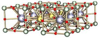 Yttrium barium copper oxide - Image: Ba Y Cusuperconduct