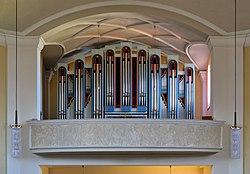 Baden - Kirche St. Christoph, Orgel (1).JPG