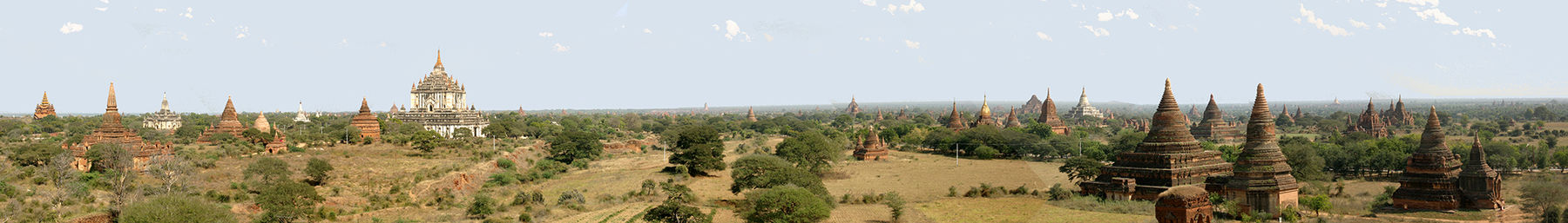 A view over the temples of Bagan, Myanmar