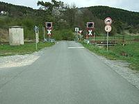 Bahnübergang Harsdorf Klärwerk.JPG