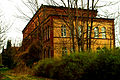 Bahnausbesserungswerk Gebäude 12 Garten seitlich Leinhausen Park Einbecker Straße 1a Hannover.jpg