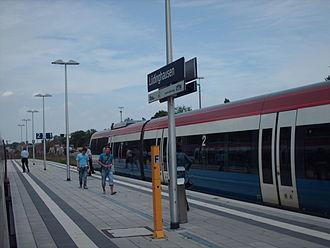 Lüdinghausen railway station - Image: Bahnhof Lüdinghausen