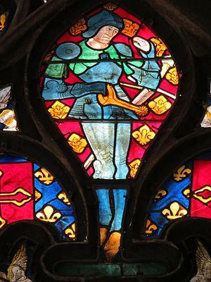John VIII, Count of Vendôme - Image: Baie 6 Jean VIII de Bourbon (Notre Dame, Évreux)