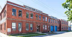 National Register of Historic Places listings in Randolph County, West Virginia - Image: Baldwin Chandlee Supply Company Valley Supply Company (east)