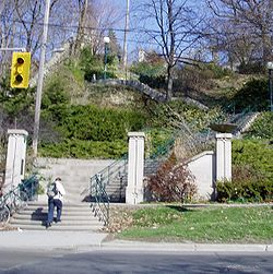 View of Baldwin Steps