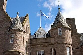 Turret - Image: Balhousie Castle (3) geograph.org.uk 548503