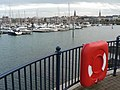 Bangor, harbour and buoy - geograph.org.uk - 611251.jpg