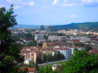 Republika Srpska - Panoramic view of Banja Luka.