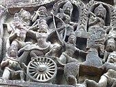 Banteay Samre - 009 War Scene (8583460309).jpg