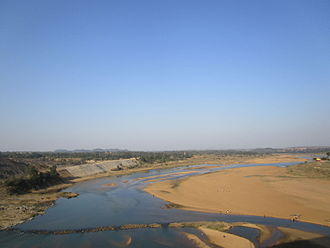 Barakar - Barakar River at Barakar, Asansol, Paschim Bardhaman district