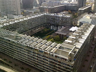 Benazir Bhutto - While in exile, Bhutto lived in central London's Barbican Estate