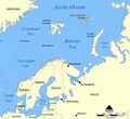 Barents and Baltic Seas