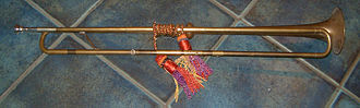 Bore (wind instruments) - Image: Baroque repro trumpet