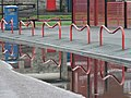 Barrier reflections - geograph.org.uk - 639985.jpg