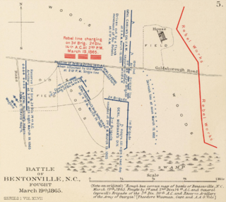 Battle of Bentonville 1865 battle of the American Civil War