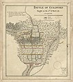 Battle of Guildford fought on the 15th of March 1781. LOC gm71000642.jpg