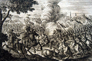 Battle of Hummelshof - Battle of Hummelhof, 1702