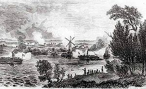 John A. Macdonald - Battle of the Windmill, near Prescott, Upper Canada, 13 November 1838
