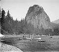Beacon Rock steamboat Sakana, and small boats.jpeg