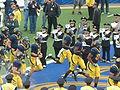 Bears take the field at EWU at Cal 2009-09-12.JPG