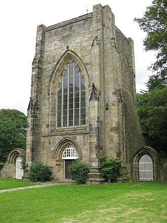 Beauchief Abbey - Beauchief Abbey main tower
