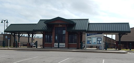 Beaumont, TX Amtrak Station closeup