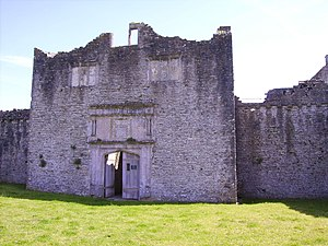 St Hilary, Vale of Glamorgan - Old Beaupre Castle