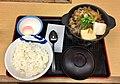 Beef pot teishoku of Matsuya.jpg